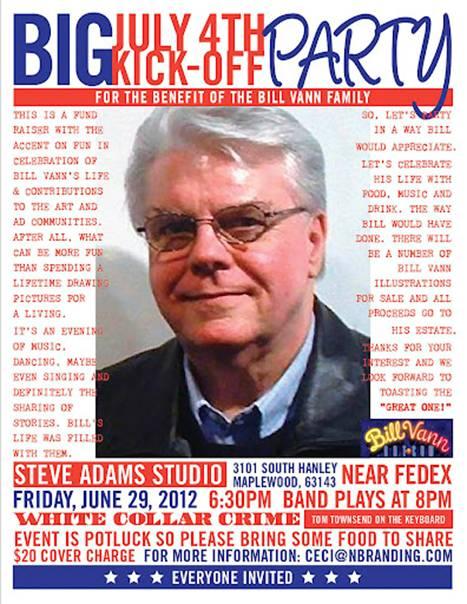 Bill Vann Fundraiser