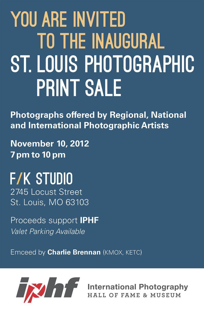 IPHF Print Sale Invite 11.1.12