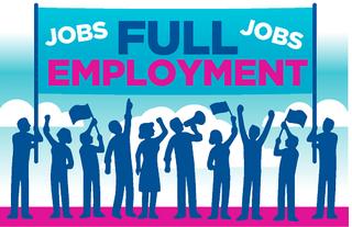 Full Employment Ilustration