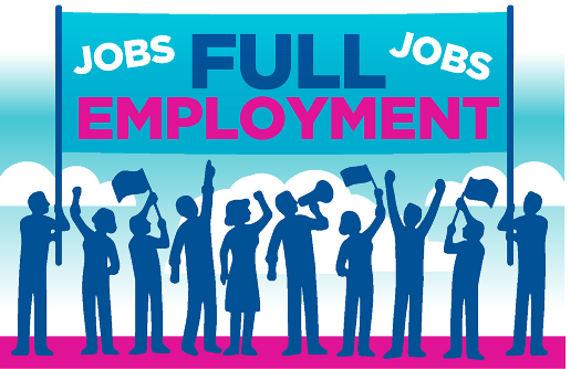 Full Employment Ilustration