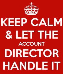 Keep Calm-Account Director