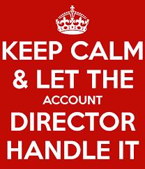 Keep Calm-Account Director